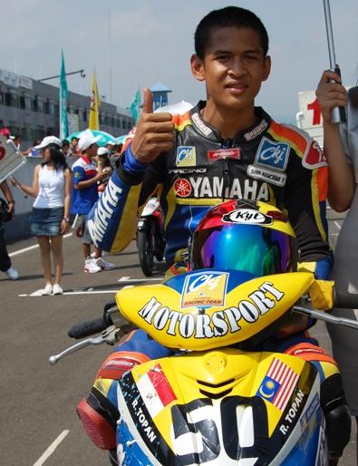 Peraih Medali di PON Riau 2012 Cabang Balap Motor